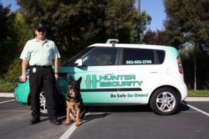Hunter Security Adds Computer Forensics and a Drug Dog